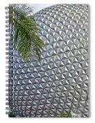 Epcot Globe Spiral Notebook