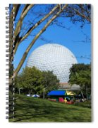 Epcot Globe Walt Disney World Spiral Notebook