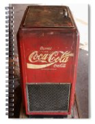 Epcot Old Coke Spiral Notebook