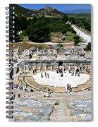 Theater Of Ephesus Spiral Notebook