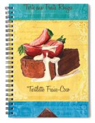 Epicerie Panel 1 Spiral Notebook