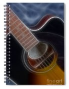 Epiphone Acoustic-9481-fractal Spiral Notebook