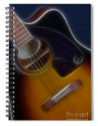 Epiphone Acoustic-9484-fractal Spiral Notebook