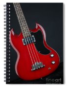 Epiphone Sg Bass-9189 Spiral Notebook