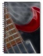 Epiphone Sg Bass-9205-fractal Spiral Notebook