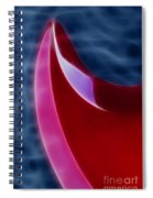 Epiphone Sg Bass-9215-fractal Spiral Notebook