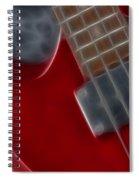 Epiphone Sg Bass-9222-fractal Spiral Notebook