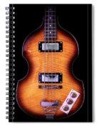 Epiphone Viola Bass Guitar Spiral Notebook