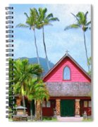 Episcopal Church In Kapaa Spiral Notebook