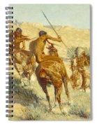 Episode Of The Buffalo Gun Spiral Notebook