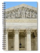 Equal Justice Under Law II Spiral Notebook