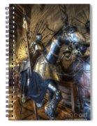 Equestrian Armour Spiral Notebook