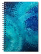Equivalent Space Original Painting Spiral Notebook