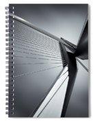 Erasmusbrug Spiral Notebook
