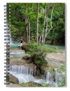 Erawan National Park In Thailand Spiral Notebook