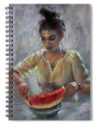 Erbora With Watermelon Spiral Notebook