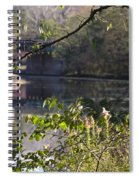 Erie Canal At Bushnell Basin Spiral Notebook