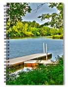 Erie Canal Dockage Spiral Notebook