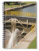 Erie Canal Lock Spiral Notebook