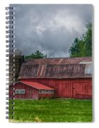 Erie County Barn 03452 Spiral Notebook