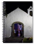 Ermita San Telmo. Puerto De La Cruz By Night Spiral Notebook