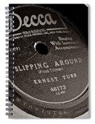 Ernest Tubb Vinyl Record Spiral Notebook