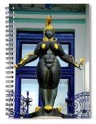 Ernst Fuchs Museum Nude Statue Spiral Notebook