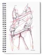Erotic Art Drawings 6 Spiral Notebook