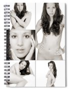 Erotic Beauty Collage 28 Spiral Notebook