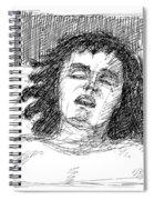 Erotic-drawings-24 Spiral Notebook