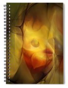Erotic Light Spiral Notebook