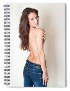 Erotic Studio Portrait Spiral Notebook