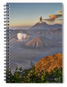 eruption at Gunung Bromo Spiral Notebook