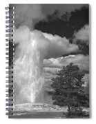 Eruptions By The Clock Spiral Notebook