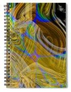 Eruptive Constructive Spiral Notebook