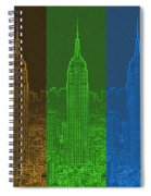 Esb Spectrum Spiral Notebook