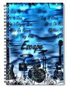 Escape Spiral Notebook