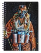 Escape Suit Russian Submarine Sailor Spiral Notebook