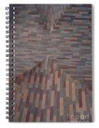 Escher Joins The Masons Spiral Notebook