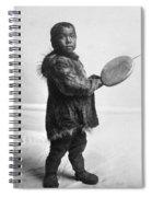 Eskimo Child, C1905 Spiral Notebook