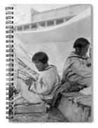 Eskimo Family, C1901 Spiral Notebook