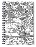 Eskimos Hunting, 1580 Spiral Notebook