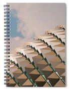 Esplanade Theatres Roof 01 Spiral Notebook