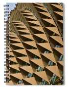 Esplanade Theatres Roof 11 Spiral Notebook