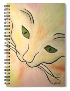 Essence Of Cat Spiral Notebook