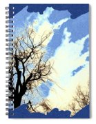Essence Of Winter Spiral Notebook