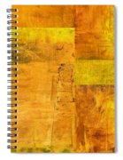 Essence Of Yellow Spiral Notebook