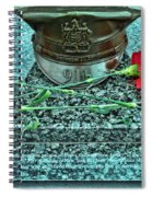 Essex County N J 9-11 Memorial 6  Spiral Notebook