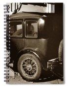 Essex Super Six In Carmel Dairy 1933 Spiral Notebook