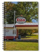 Esso Dealer Spiral Notebook